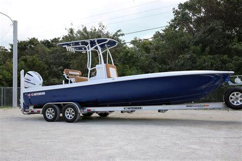 miami boat show boats for sale 2016 contender 25 bay boat miami boat show quot gucci quot sold