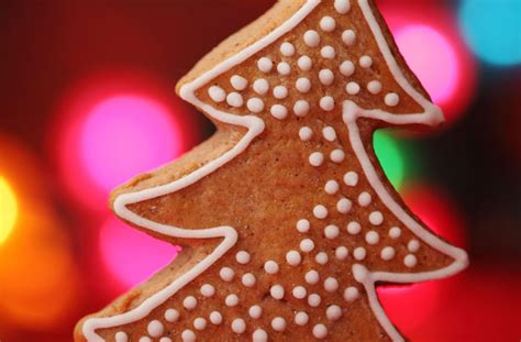 christmas tree biscuits recipe goodtoknow