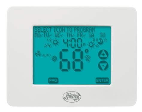 fan company thermostat 44860 universal 2h 2c touchscreen thermostat home