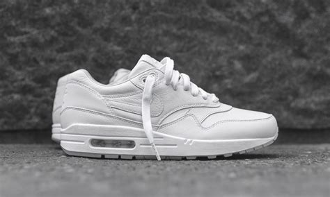 Remax Leather Fashion Air 1 White nike s air max 1 quot quot releases in all white colorway highsnobiety