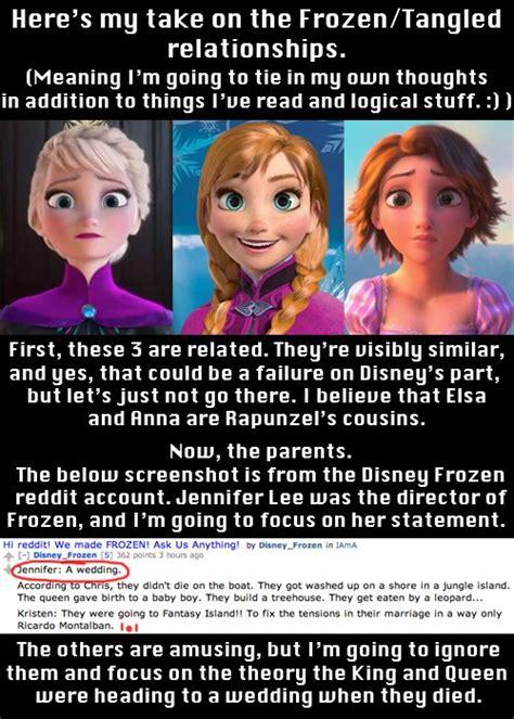 film theory elsa and rapunzel colourful metaphor frozen pinterest disney rapunzel