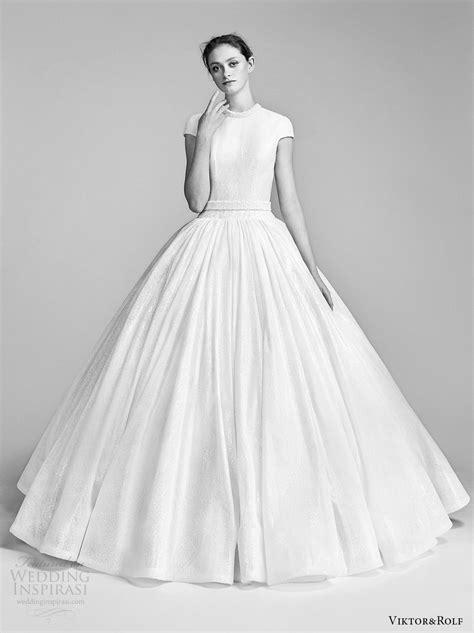 viktor amp rolf spring 2018 wedding dresses wedding inspirasi