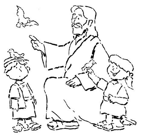children s coloring pages jesus jesus the children coloring pages coloring home