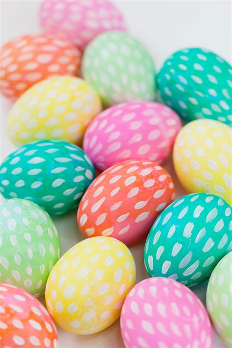 painting easter eggs brushstroke painted easter eggs tell and partytell