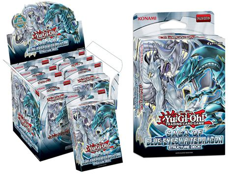 yugioh saga of blue white structure deck yu gi oh tcg structure deck saga of the blue white