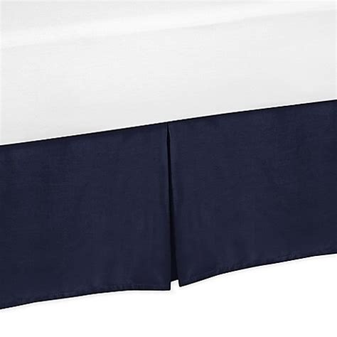 arrow bed buy sweet jojo designs arrow twin bed skirt in navy from