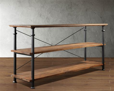 restoration hardware bakers rack console look 4 less