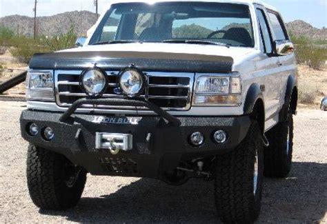 97 ford bronco iron bull front bumper ford 1992 96 bronco 92 97 f