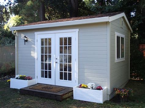 she shed cost the quot studio quot built by the shed shop youtube