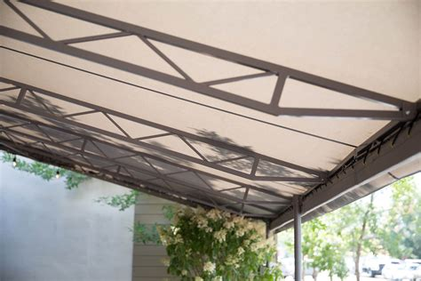 fabric awning commercial shade fabrics sunbrella