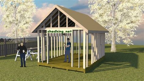 build  shed roof shed roof construction shed