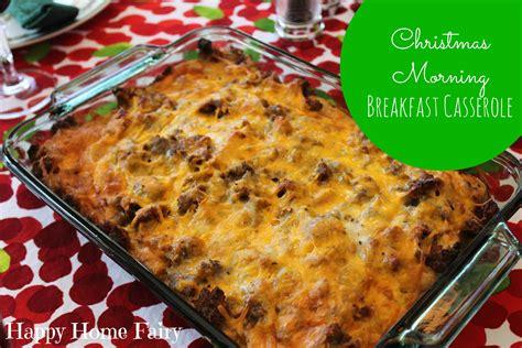 recipe christmas morning breakfast casserole happy home fairy