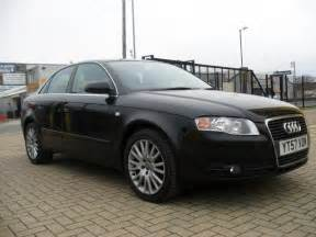 used 2007 audi a4 saloon black edition 2 0 tdi tdv se