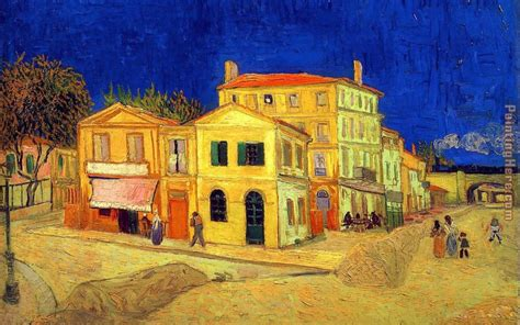 house paintings vincent van gogh the yellow house painting anysize 50 off