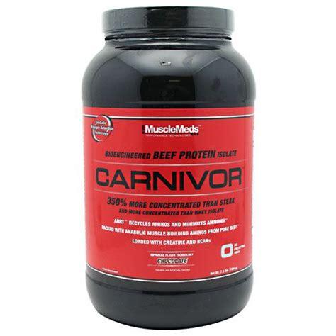 Carnivor Whey Juli 2015 meds carnivor chocolate 2lb tgb supplements