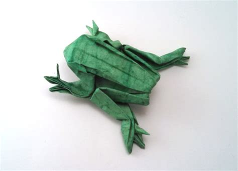 Frog Money Origami Animal Reptile Made Of Real Dollar Bills - origami hibians page 1 of 4 gilad s origami page