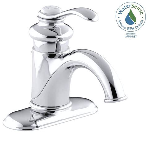 Water Saving Bathroom Faucets by Kohler Fairfax Single Single Handle Water Saving