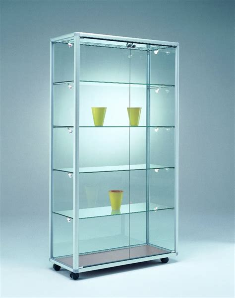 ikea glasvitrine glasvitrine 99x52 5x184 5 cm vitrinen