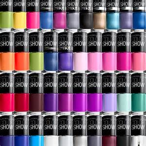 maybelline color maybelline nail color show choose your favorites