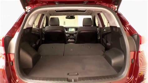 hyundai tucson 2016 interior 2016 hyundai tucson interior design automototv youtube
