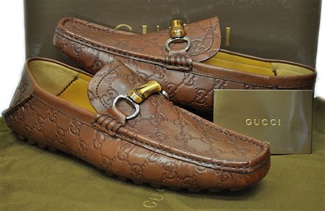 gucci mens shoes st tropez gg bamboo bit loafer 138204