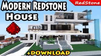 minecraft modern luxury redstone house review