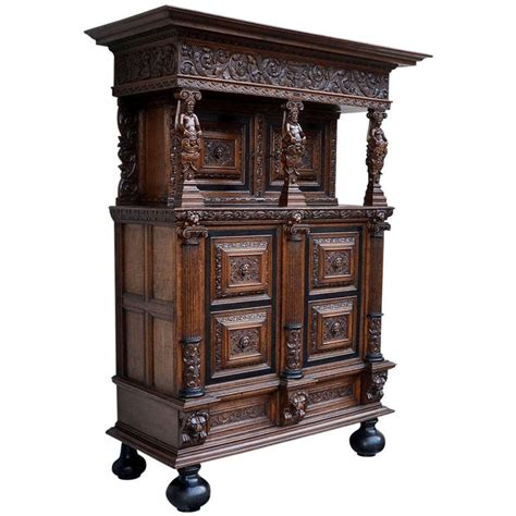 Cabinet Germany by Authentic Baroque Cabinet From Northern Germany