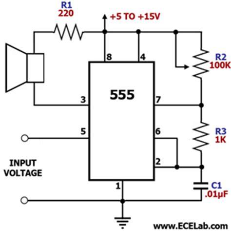 audio oscillator integrated circuit 19 fm vco 555timer i ham lesson o de day