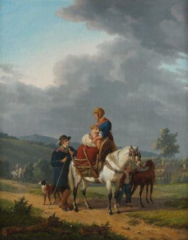 jacques françois swebach desfontaines la famille allant au march 233 by jacques fran 231 ois joseph