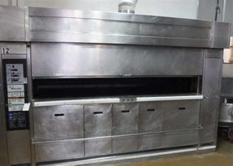 Oven Gas Amira Baking Shop baxter revolving tray oven gas model ov851g m36 pre