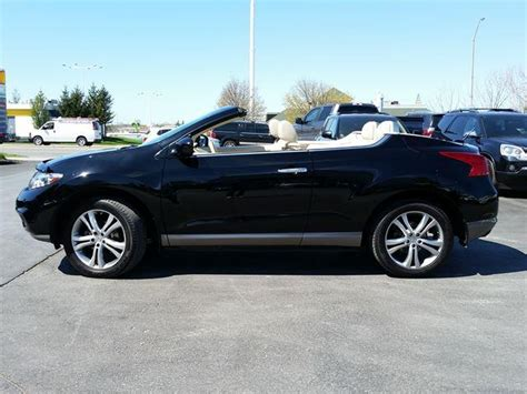 nissan awd convertible 2011 nissan murano convertible crosscabriolet awd outside
