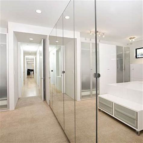 closet mirror sliding doors pin by shaun on master bath design