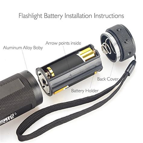 bed bug light detector escolite uv flashlight black light 51 led 395 nm