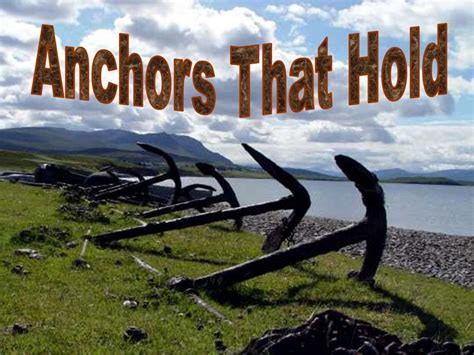 Acts 27 Sermon Outlines by Four Anchors That Will Hold Acts 27 God Faith Church Of Word Bible Paul Shipwreck