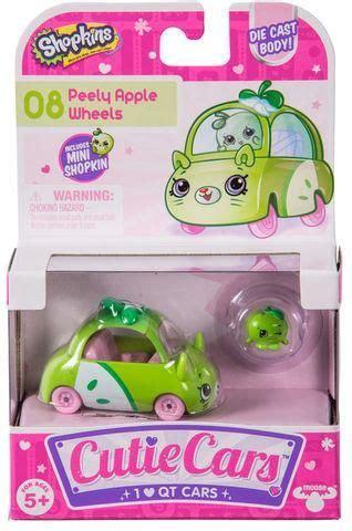 Shopkins Cutie Cars 08 Peely Apple Wheels With Mini Shopkin Exclusiv 41 best shoppen now images on shopkins cutie