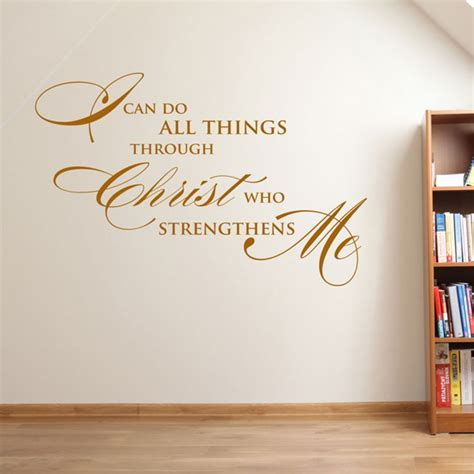 wall decor ideas removable stickers christian vinyl