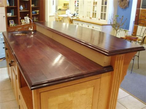 bar counter top premium wide plank wood bar tops brooks custom