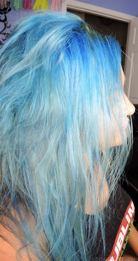 ion shark blue how to get blue hair my hair journey