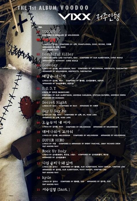 download mp3 full album voodoo vixx first full album voodoo page 3 music onehallyu