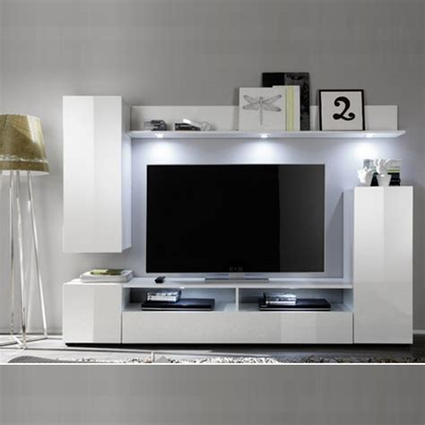 Delta Living Room Furniture Set 1 In White High Gloss 24173 White Gloss Furniture Living Room