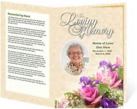 Funeral Handouts Template by Funeral Handouts Template
