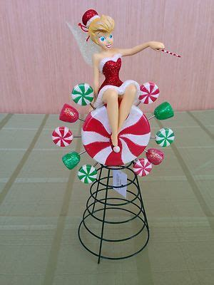 tinkerbell tree toppers for christmas trees santa tink tree topper tinkerbell disney collectibles for sale disney