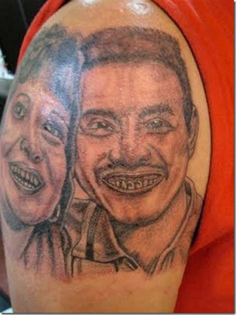 horrible tattoo bad tattoos 15 more of the ugliest worst team jimmy joe