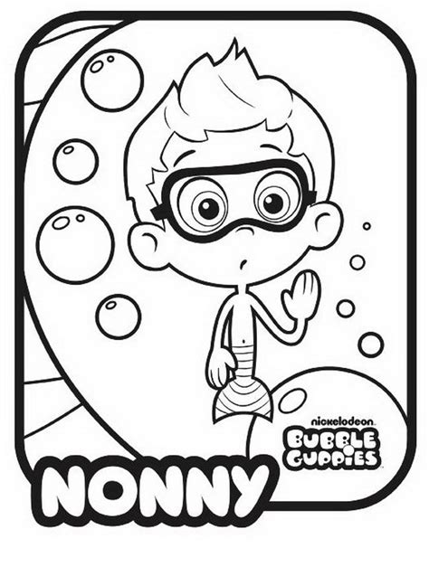 printable bubble guppies gil coloring pagesfree printable bubble guppies coloring pages best coloring pages for kids