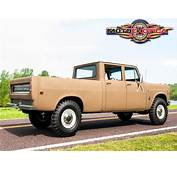 1972 International Harvester 1210 Travelette 4&2154 Pickup