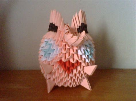 Origami Jigglypuff - jigglypuff origami by collarander on deviantart