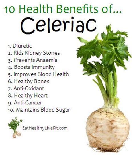 root vegetable nutrition health benefits of celeriac nutrition info