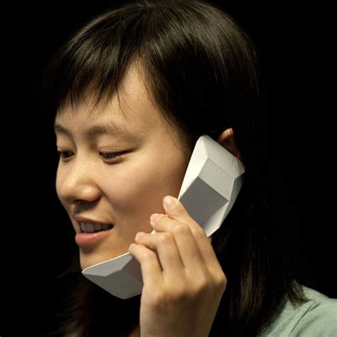 Origami Cell Phone - fully functional paper origami cell phone design bit rebels