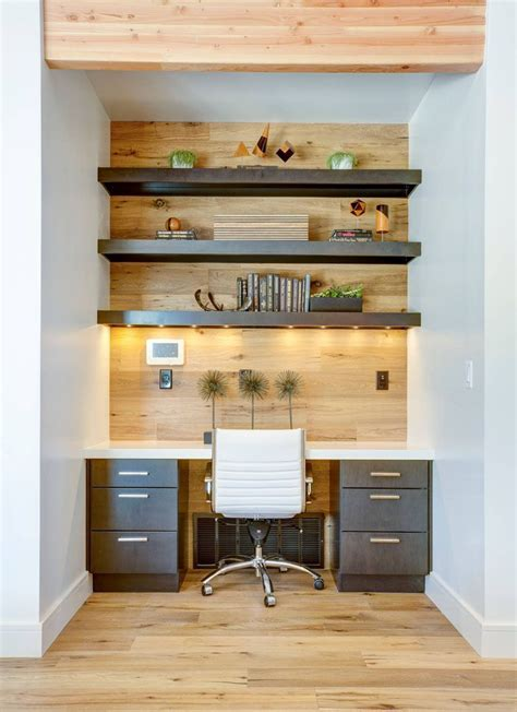 small lights for shelves small home office idea make use of a small space and