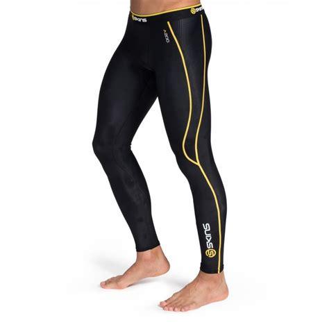compression tights skins a200 mens compression tights black yellow